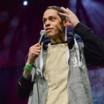 Pete Davidson, Photo by Amanda Koellner Ariana grande tattoos joke comedy show judd apataow