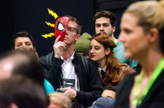 Peter Parker Reporter Mary Jane Watson New York Comic Con 2018 Ben Kaye-109