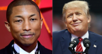 Pharrell and Donald Trump