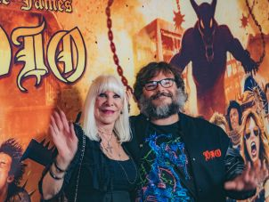 Wendy Dio and Jack Black