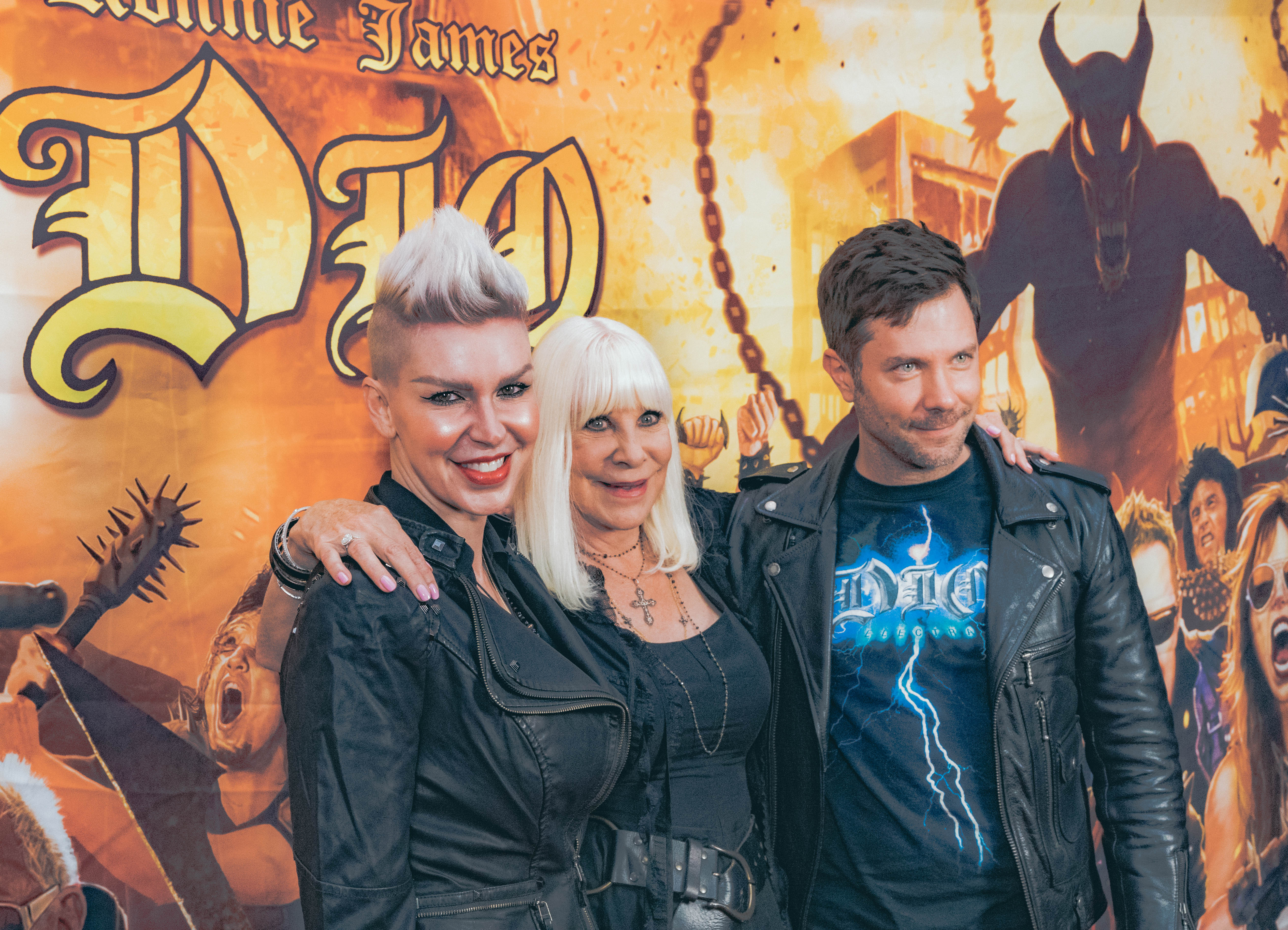 James and Sadie St. Vincent with Wendy Dio