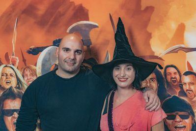 Ahmet and Diva Zappa