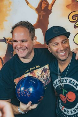 Eddie Trunk and Tom Morello
