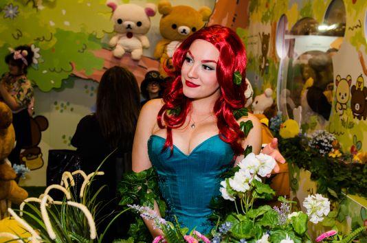 Poison Ivy New York Comic Con 2018 Ben Kaye-24
