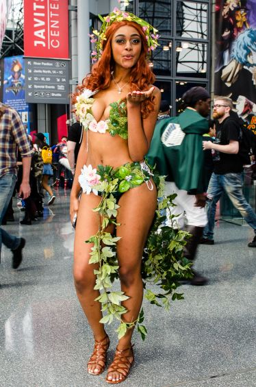 Poison Ivy New York Comic Con 2018 Ben Kaye-37