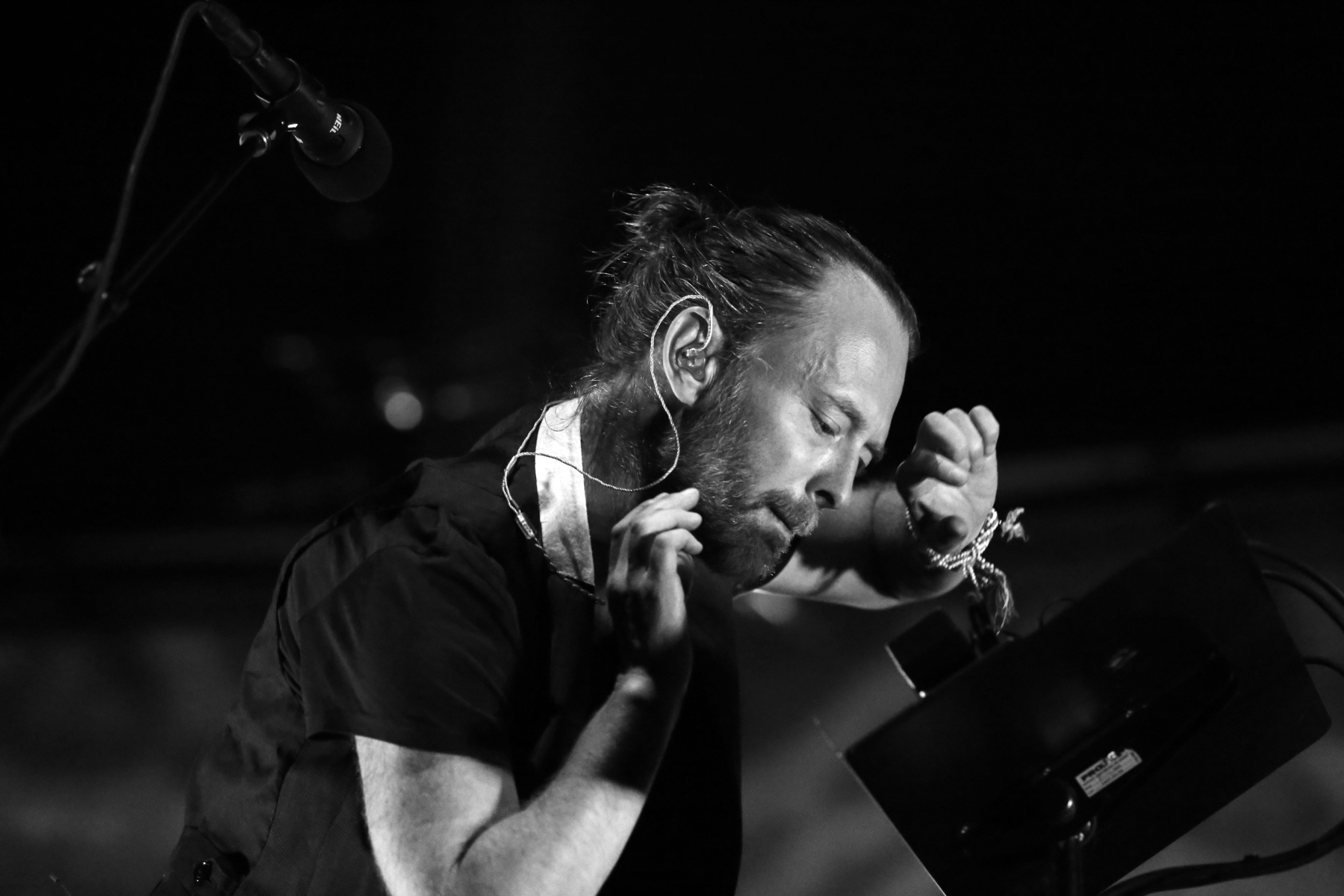 """Thom Yorke debuts new song """"Gawpers"""": Watch"""