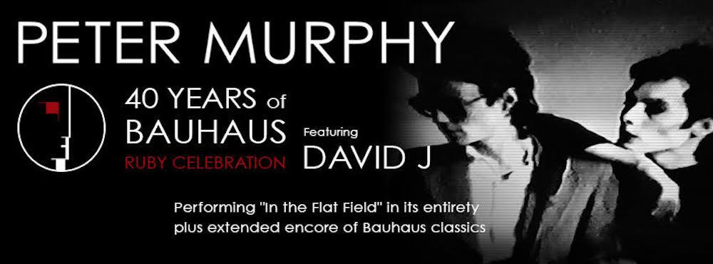 bauhaus 40th anniversary ruby tour north america