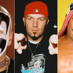 Shaggy, Fred Durst, and Iron Sheik