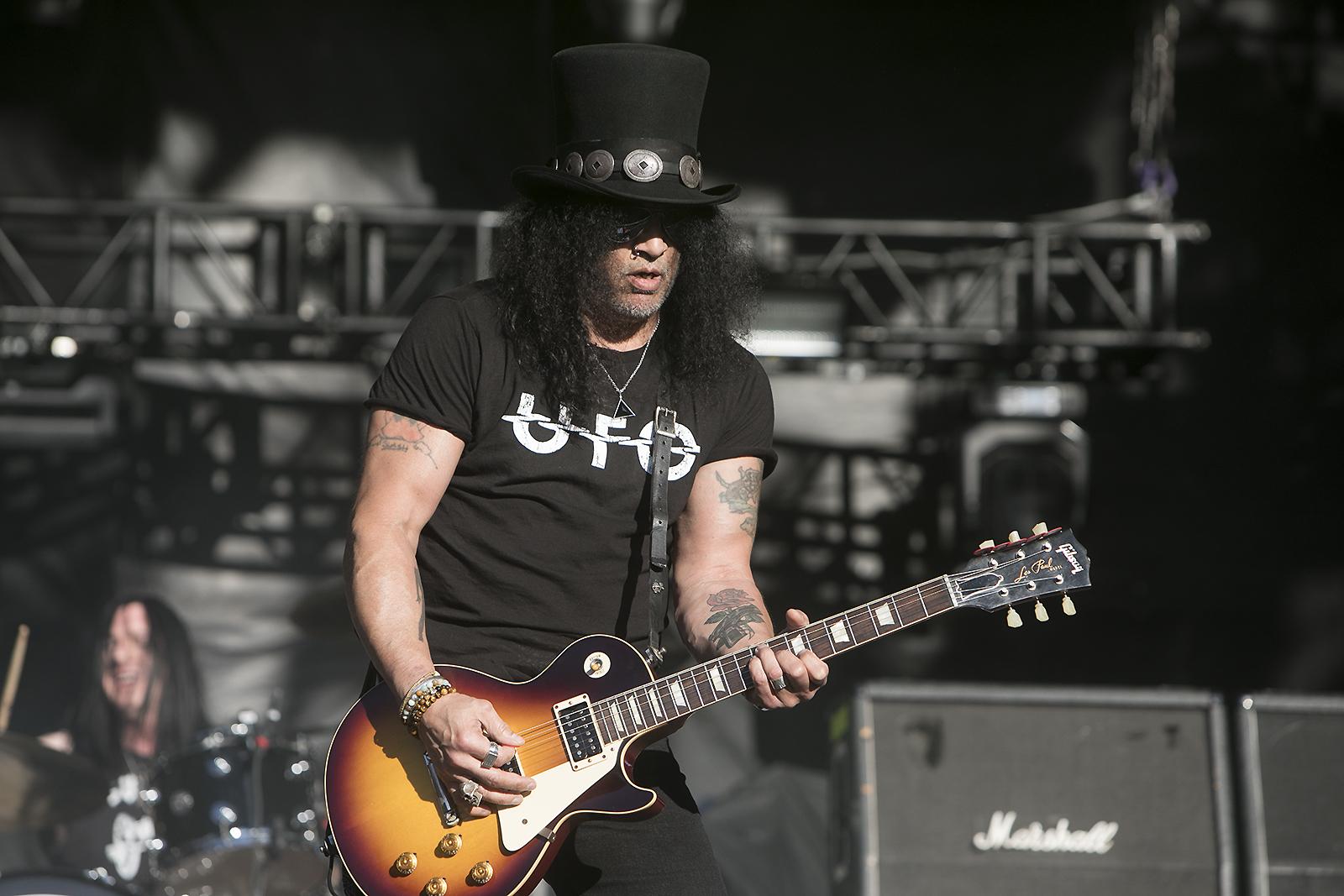Slash, photo by Raymond Ahner