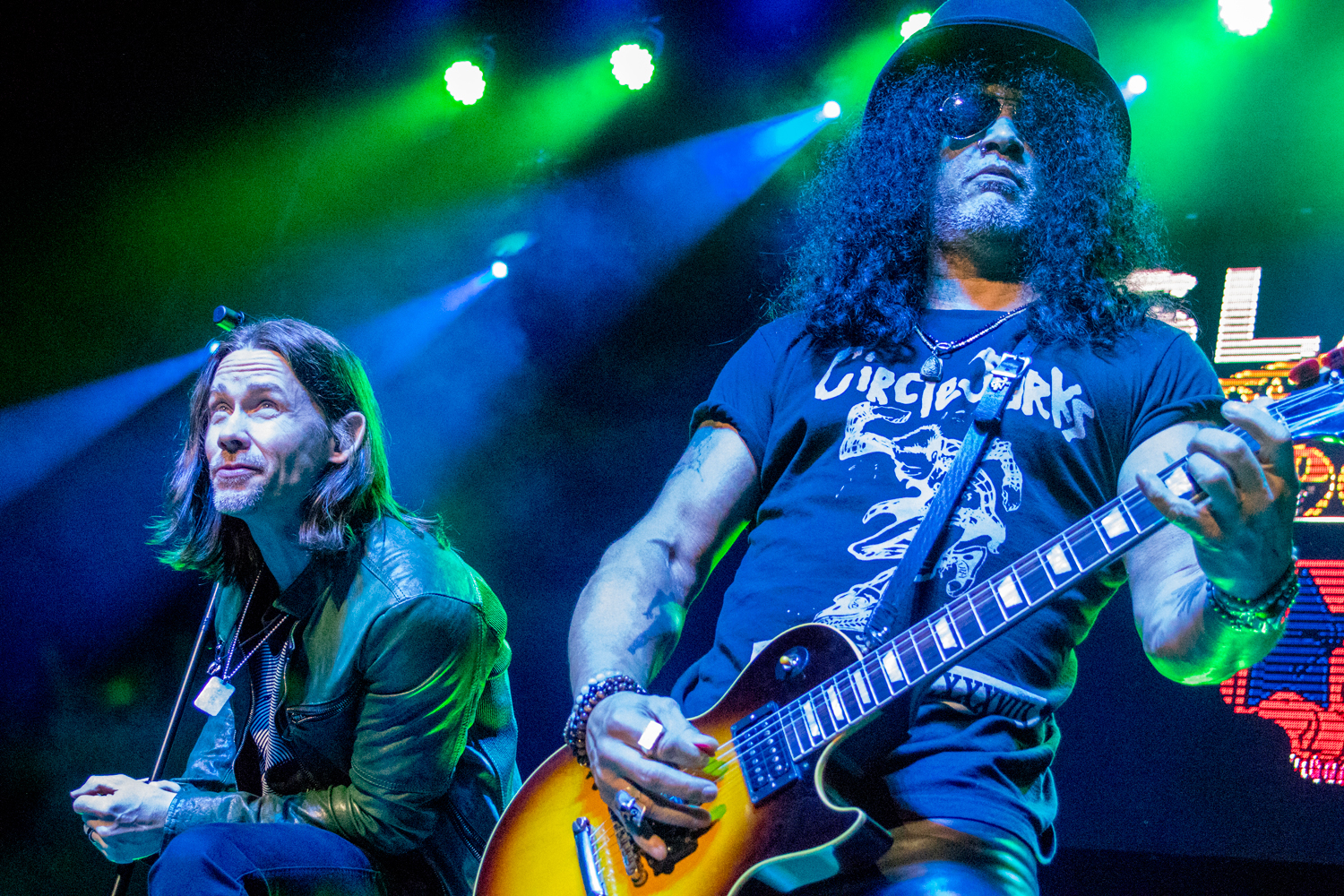 Slash featuring Myles Kennedy and The Conspirators, photo by Antonio Marino Jr.