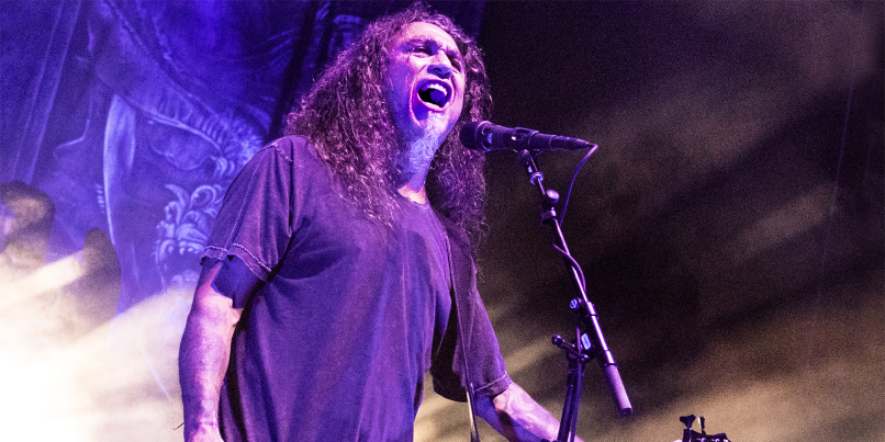 Slayer's Tom Araya