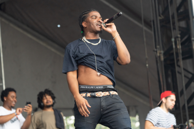 Smino, Austin City Limits 2018, photo by Amy Price