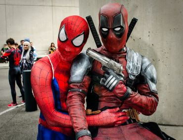 Spider-Man vs Deadpool New York Comic Con 2018 Ben Kaye-146
