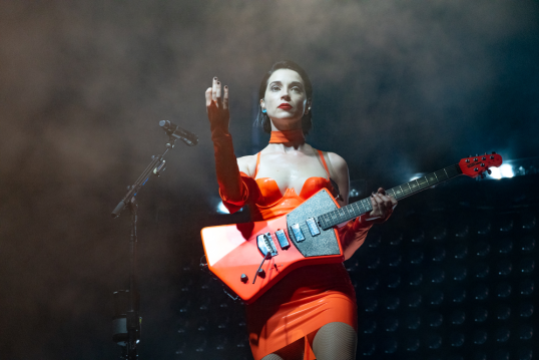 St. Vincent, Austin City Limits 2018, photo by Amy Price Top Rock Albums Decade 2010s