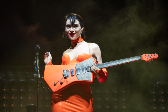 St. Vincent, Austin City Limits 2018, photo by Amy Price