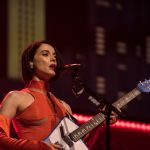 St Vincent performing on Austin City Limits
