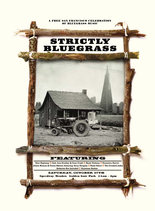 Strictly Bluegrass Inaugural Poster (2001)