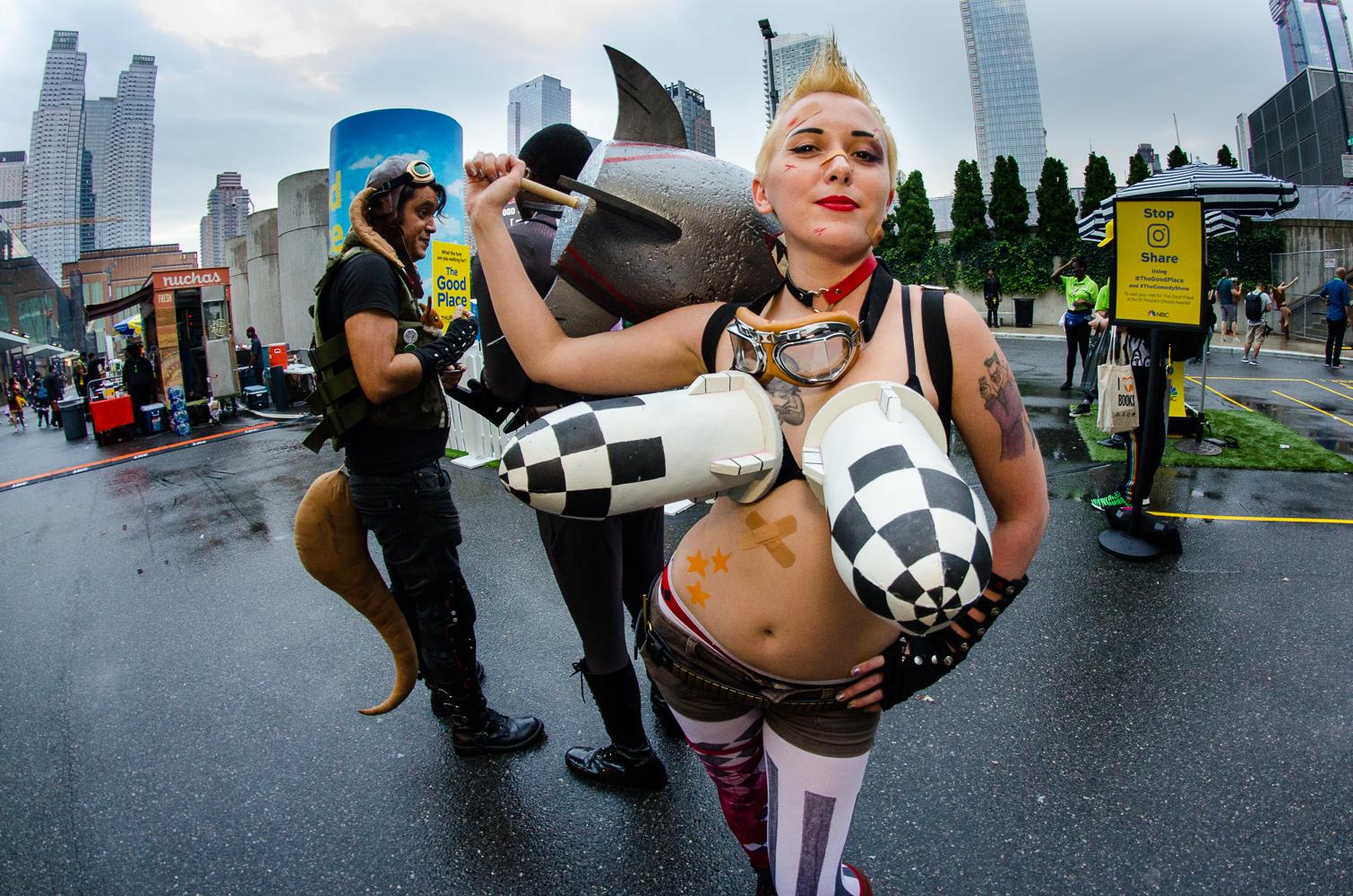 Tank Girl New York Comic Con 2018 Ben Kaye-12