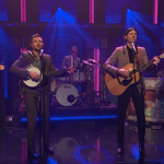 The Avett Brothers on Seth Meyers