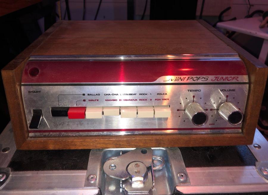 The Driver Era Low Origins 1972 Korg Mini Pops Junior Drum Machine