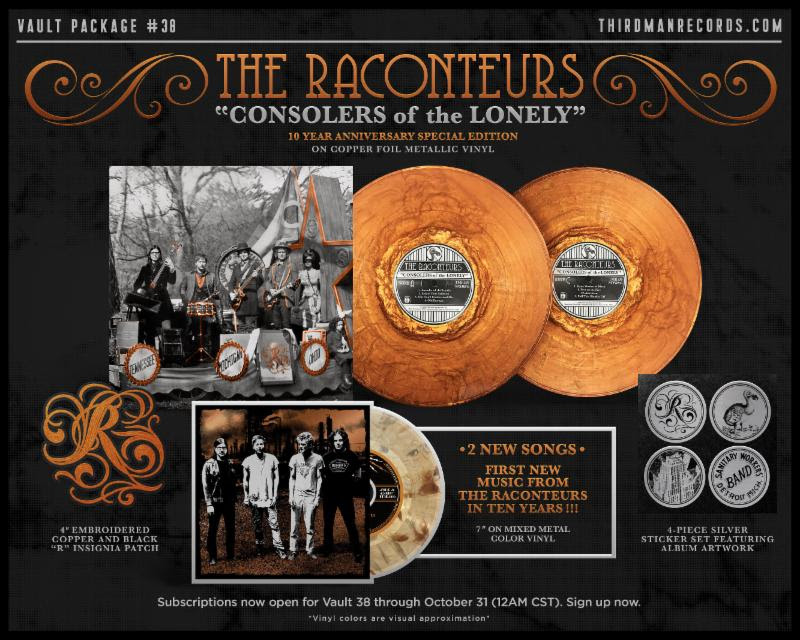 The Raconteurs Consolers of the Lonely reissue