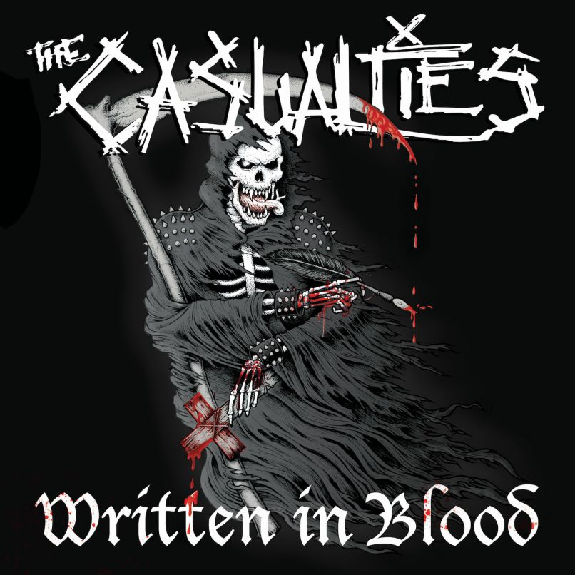 TheCasualties - Written in Blood