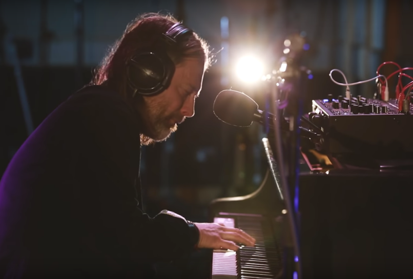 "Watch Thom Yorke ""Unmade"" piano on BBC Radio 6"