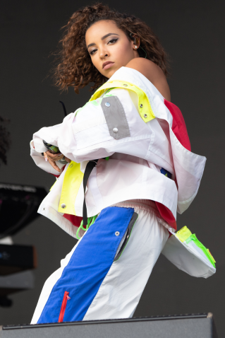 Tinashe, Austin City Limits 2018, photo by Amy Price