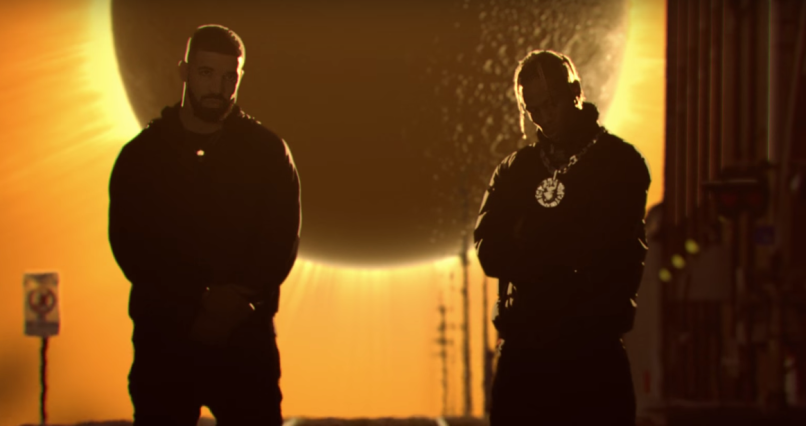 Travis Scott and Drake's video for Sicko Mode