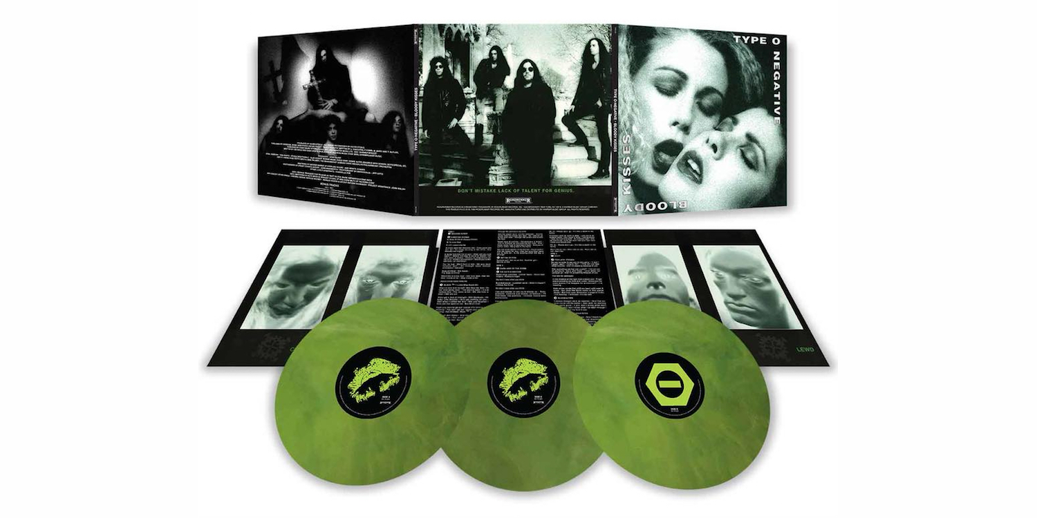 Type O Negative Bloody Kisses reissue