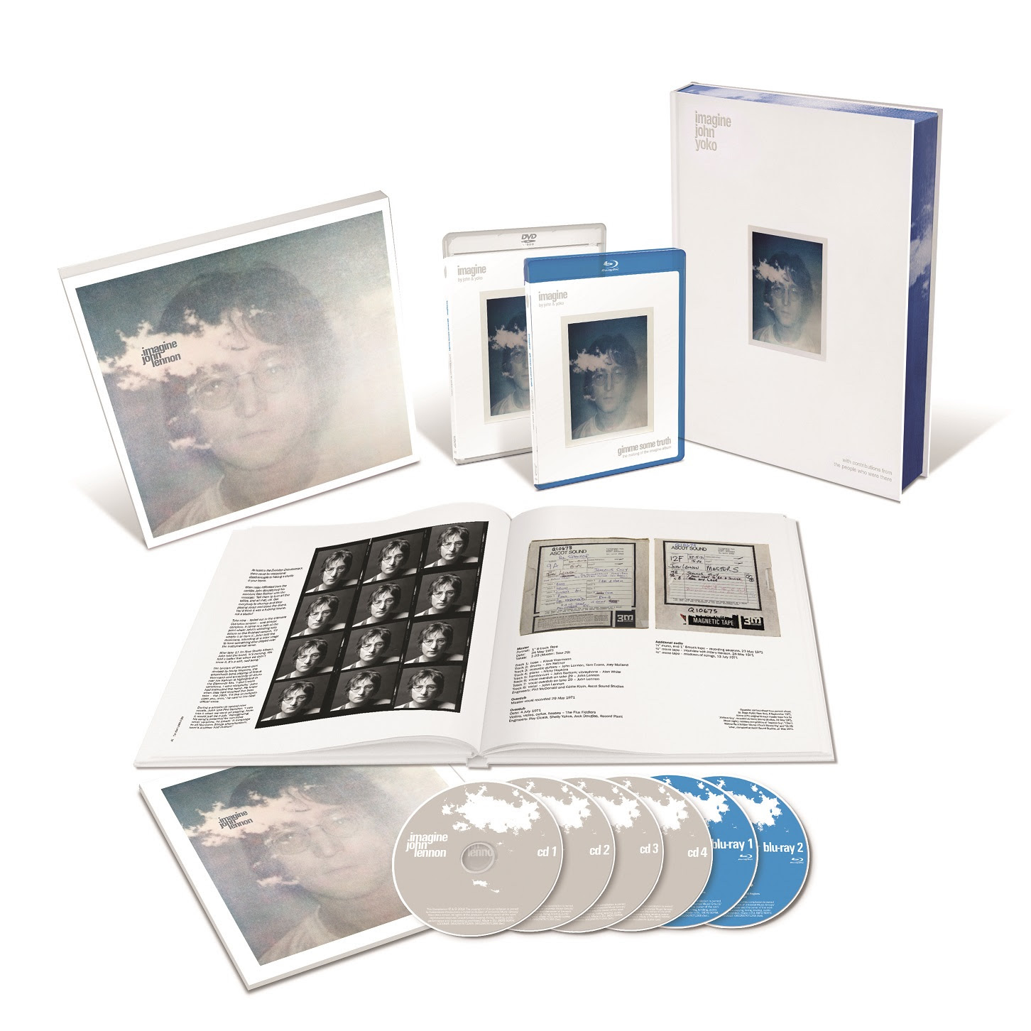 unnamed 31 John Lennons 78th birthday celebrated with six disc Imagine box set: Stream