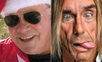 William Shatner and Iggy Pop