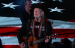 Willie Nelson Jimmy Kimmel Live Fly Me to the Moon Vote 'Em Out