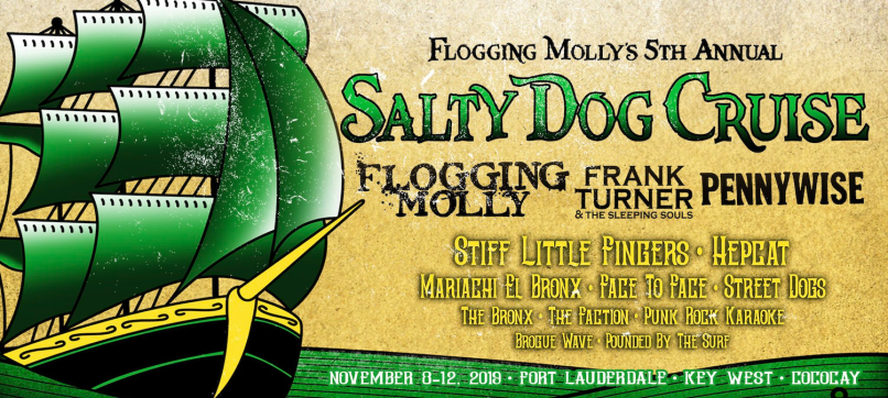 Flogging Molly Cruise 2019