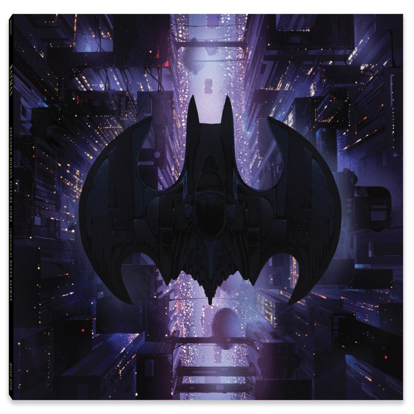 batman fc spine Mondo reissuing Danny Elfmans iconic Batman score