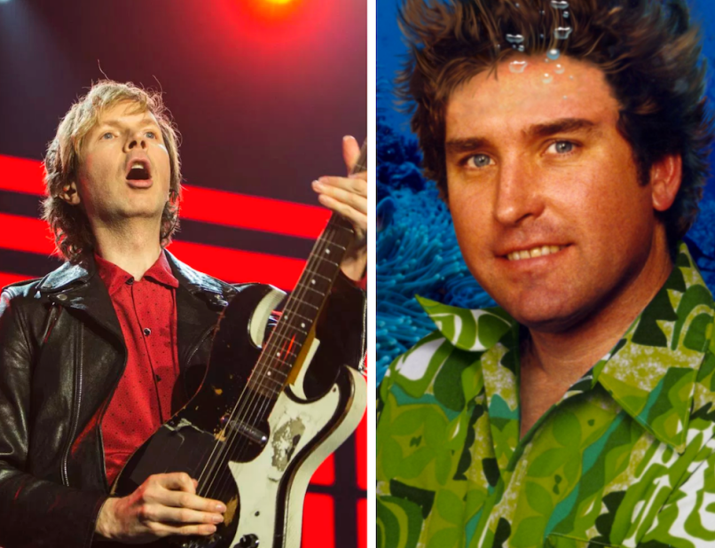 Beck pays tribute to neighbor Stephen Hillenburg
