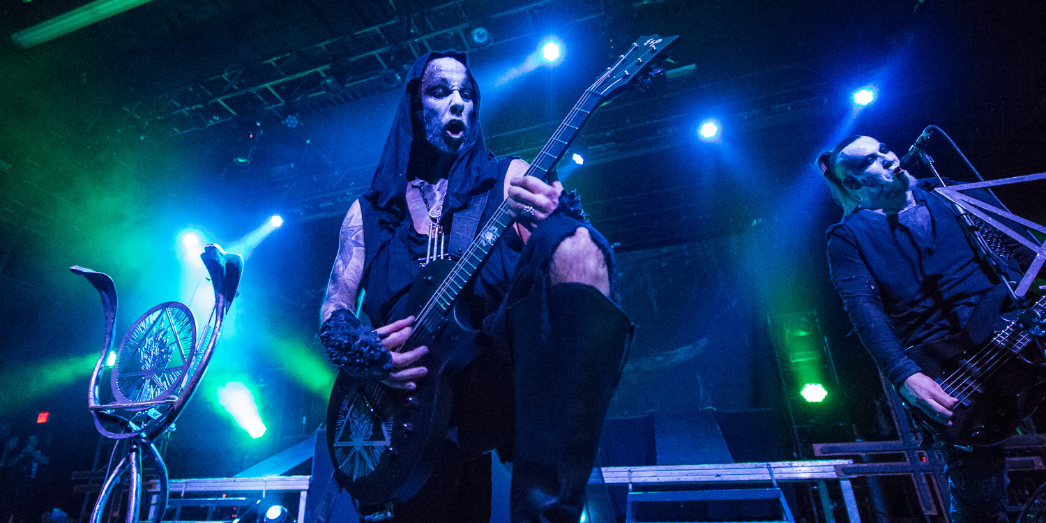 Couple engages in oral sex at Behemoth concert, and frontman Nergal approves