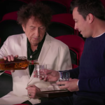 Video Bob Dylan Jimmy Fallon Circus Whiskey