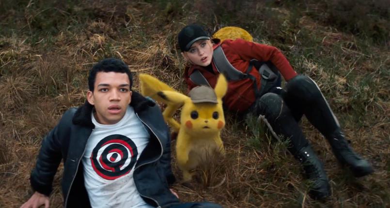 Detective Pikachu kathryn newton
