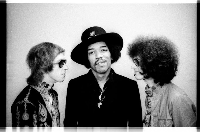 Jimi Hendrix Experience, photo by Chuck Boyd