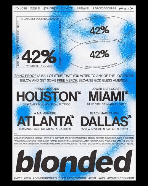 frank ocean tumblr voting merch poster