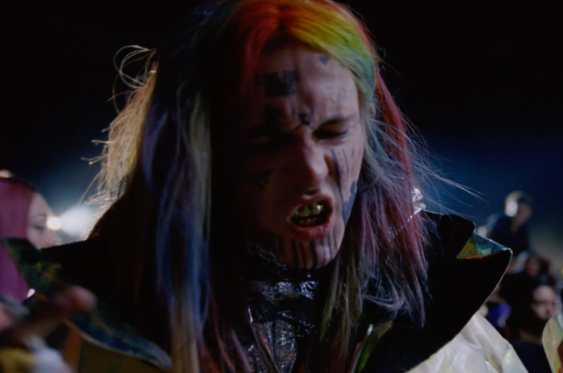 "Watch Gesaffelstein's ""Reset"" video featuring a Tekashi lookalike?"