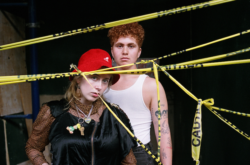 """Girlpool, photo by Ilana Kozlov announce What Chaos Is Imaginary, share """"Hire"""""""