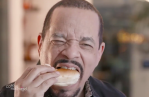 Watch Ice-T Eat Bagel Coffee First Time