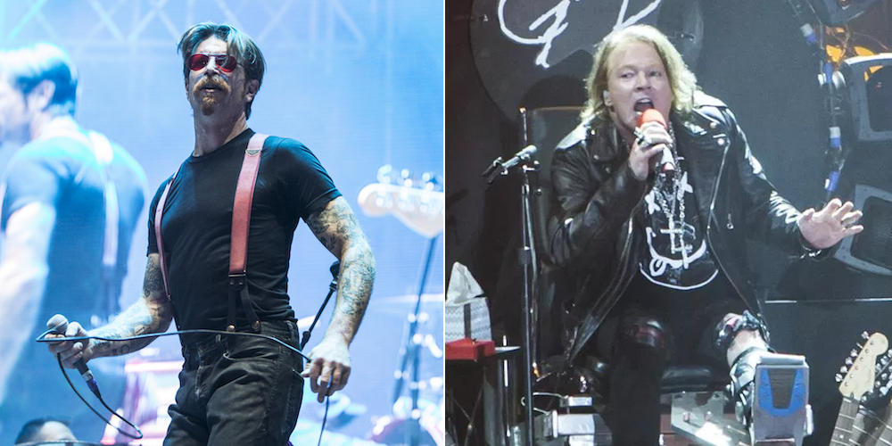 Eagles of Death Metal name new covers album after Axl Rose