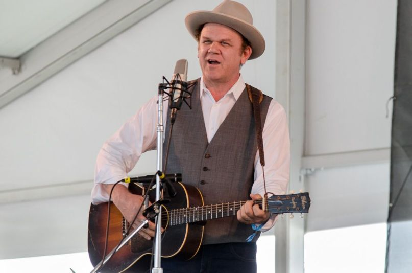 Just John C  Reilly freestyling over Kanye West and Common's