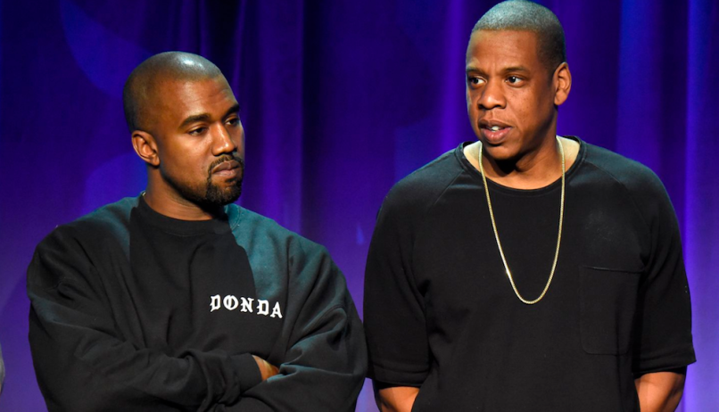 Kanye West Jay-Z What's Free Red Hat feud tweet