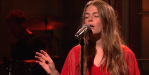 Maggie Rogers on SNL