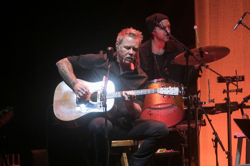 In Photos: Metallica Go Unplugged at San Francisco Benefit