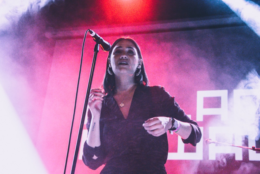 Nadine Shah // Iceland Airwaves // Photo by Lior Phillips